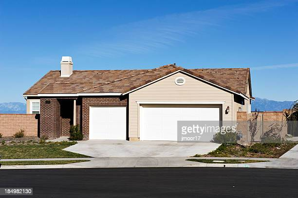 House in the Corona region of Southern California