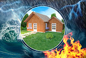 House insurance against damage and disaster