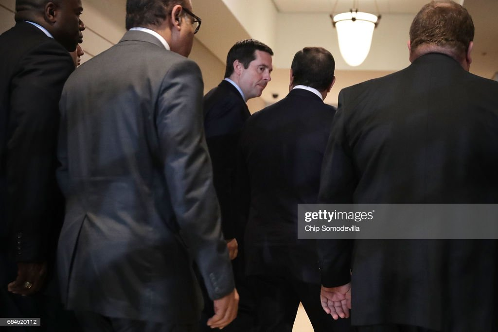 House Intel Committee Chairman Rep. Devin Nunes  Meets With Egyptian President El Sisi
