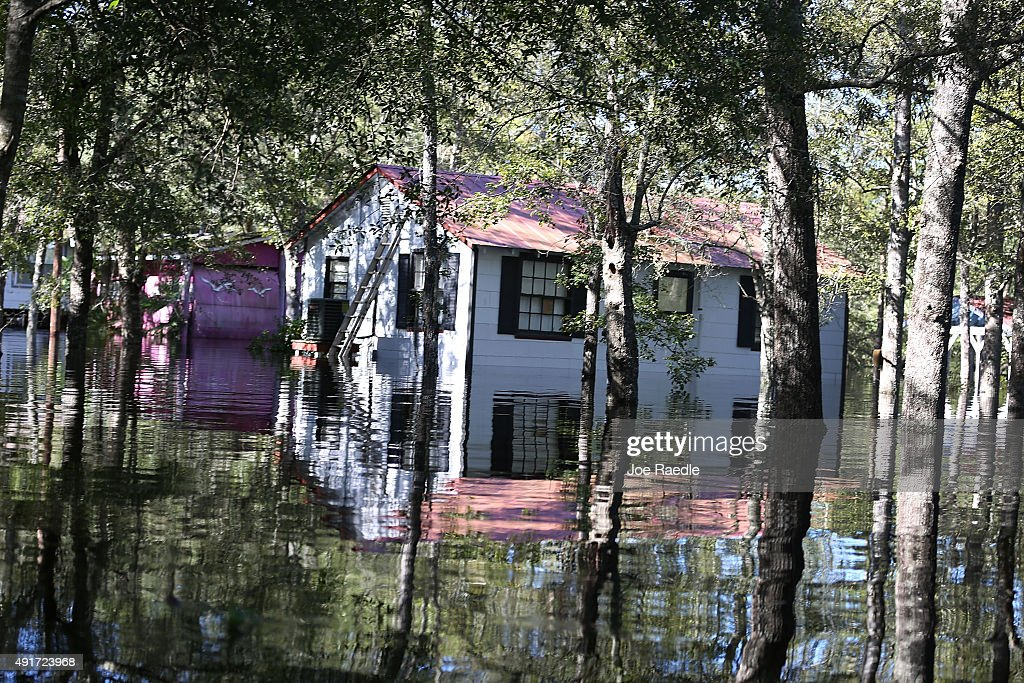 South Carolina Hit By Historic Rain And Flooding Getty