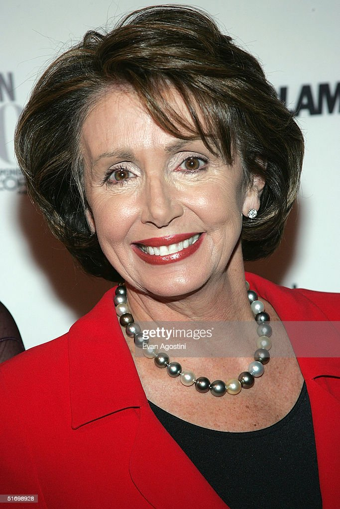 House Minority Leader <a gi-track='captionPersonalityLinkClicked' href=/galleries/search?phrase=Nancy+Pelosi&family=editorial&specificpeople=169883 ng-click='$event.stopPropagation()'>Nancy Pelosi</a> (D-CA) attends the 15th Annual Glamour 'Women of the Year' Awards at the American Museum of Natural History November 8, 2004 in New York City.