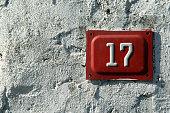 door number 17