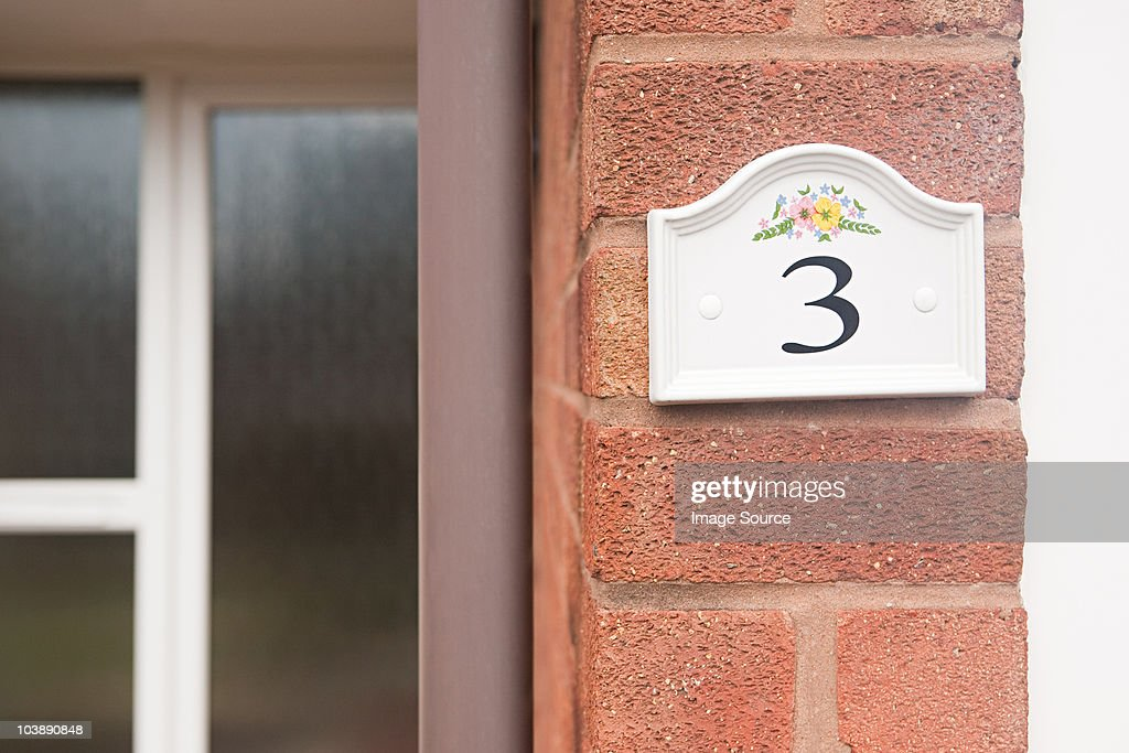 House number three : Stock Photo