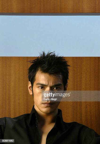 House of Flying Dagger's actor Takeshi Kaneshiro poses for portraits at the Majestic Hotel during the 57th Annual International Cannes Film Festival...