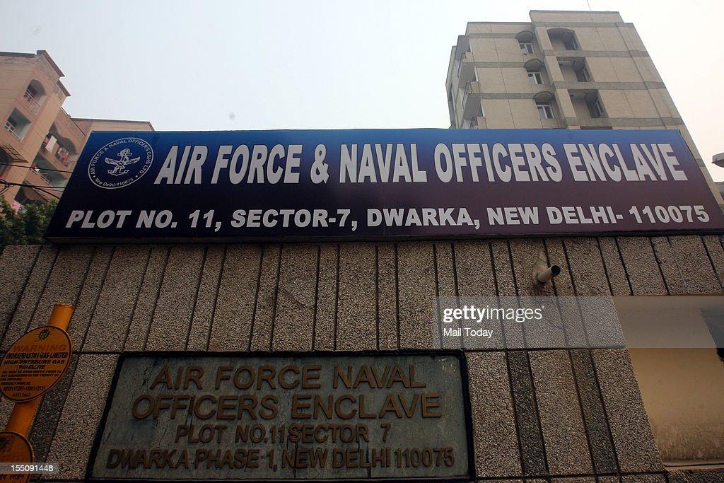 House of Jitendar Kumar Mohala who triggered a Indigo Flight Delhi to Goa by a Fake Hijack in 2009.