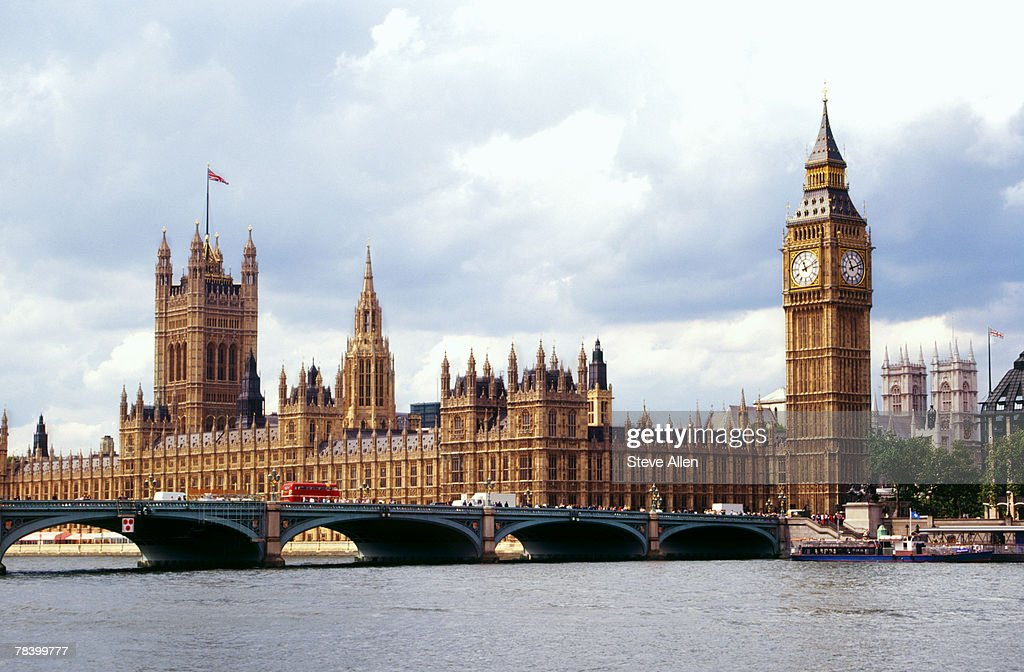 House of Parliament, England : Stock Photo