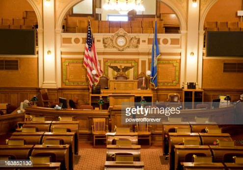 House of Representatives Chamber South Dakota State Capitol