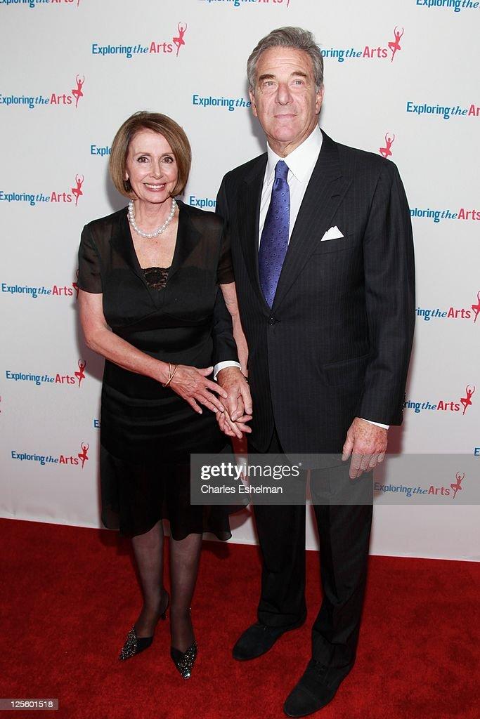 U.S. House of Representatives Minority Leader Nancy Pelosi and Paul Pelosi attend the Tony Bennett 85th birthday gala at The Metropolitan Opera House on September 18, 2011 in New York City.
