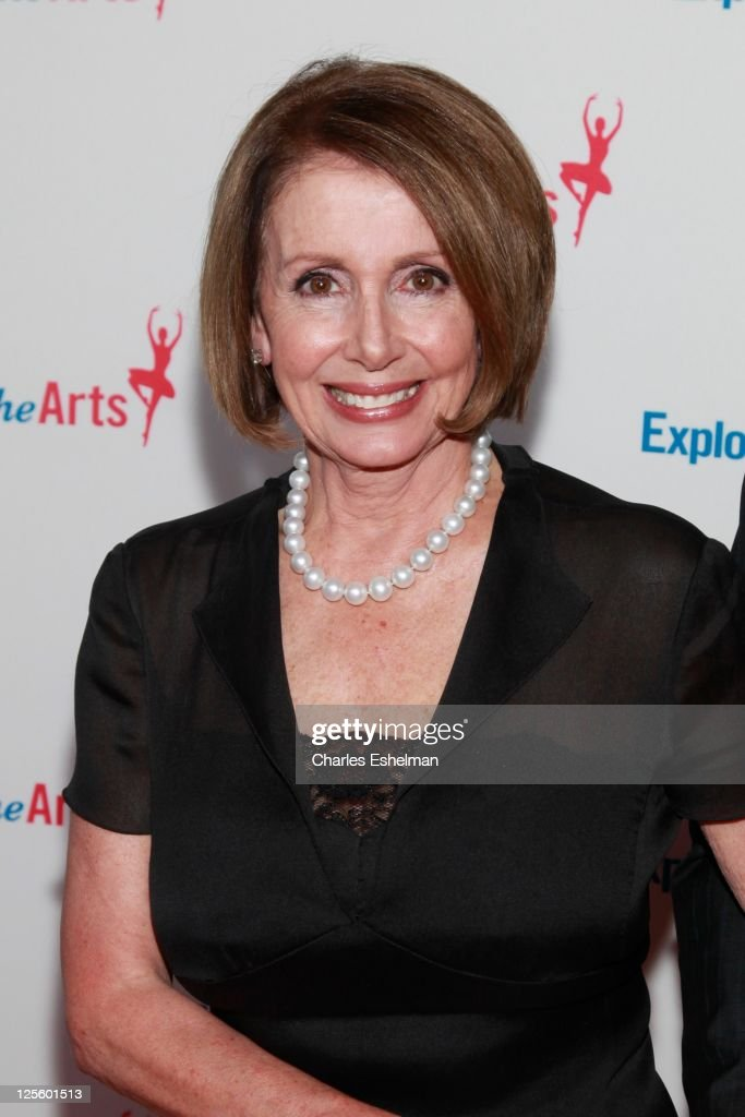 U.S. House of Representatives Minority Leader <a gi-track='captionPersonalityLinkClicked' href=/galleries/search?phrase=Nancy+Pelosi&family=editorial&specificpeople=169883 ng-click='$event.stopPropagation()'>Nancy Pelosi</a> attends the Tony Bennett 85th birthday gala at The Metropolitan Opera House on September 18, 2011 in New York City.