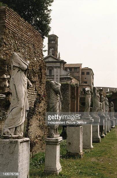 House of the Vestal Virgins Rome Italy