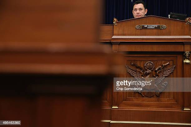 House Oversight and Government Reform Committee Chairman Jason Chaffetz presides over a hearing about lapses in TSA screening in the Rayburn House...