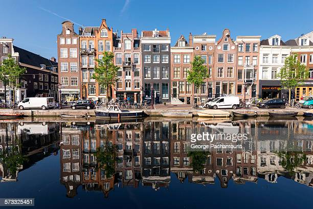 House reflected in the canals
