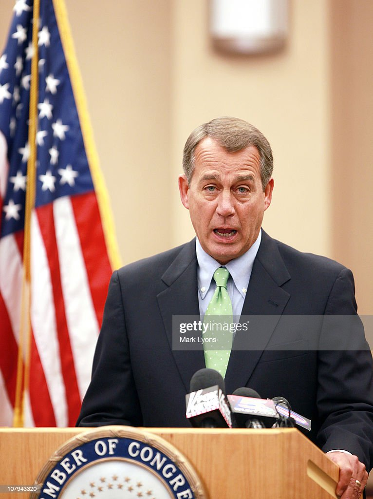 Speaker Boehner Addresses Shooting Of Arizona Congresswoman
