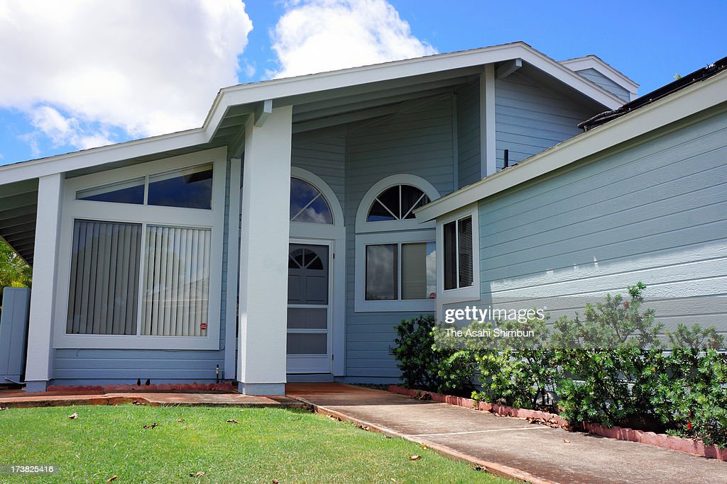 A house where whistleblower Edward Snowden used to live before heading to Hong Kong for an year with his girlfriend is seen on June 27 2013 in...