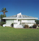 House wrapped in bubble wrap