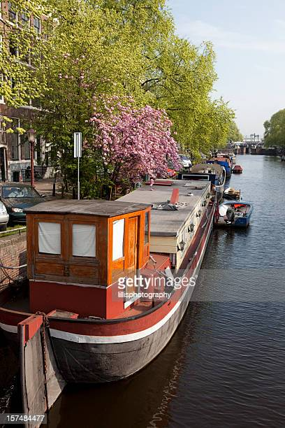 House boat stock photos and pictures getty images for Houseboat amsterdam