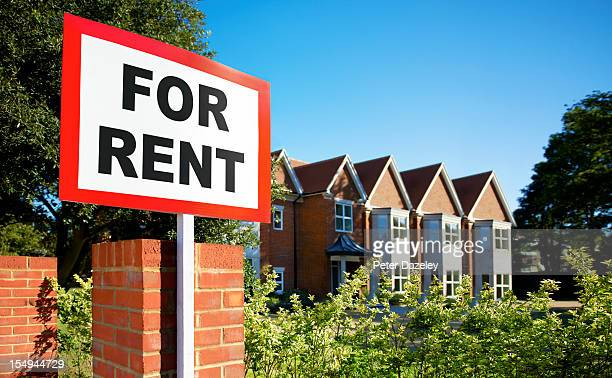 House/flat for rent sign