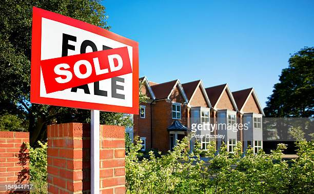 House/flat sold sign