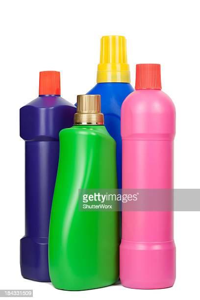 Ménage, nettoyage de bouteilles de l'approvisionnement