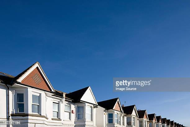 Houses and blue sky