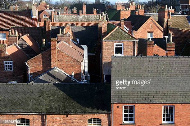 houses and rooftops
