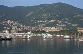 Houses around the Port of La Spezia