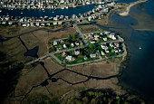 Houses Built on Salt Marsh