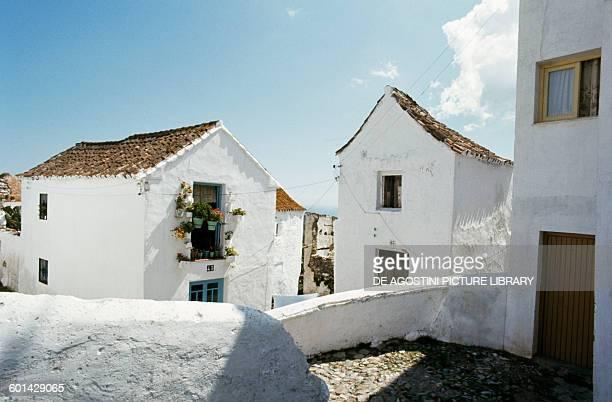 Houses Casares Pueblos Blancos Andalusia Spain