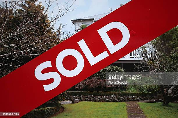 Houses for sale and sold in central Auckland suburbs on November 25 2015 in Auckland New Zealand The average house price in Auckland has risen by 70...