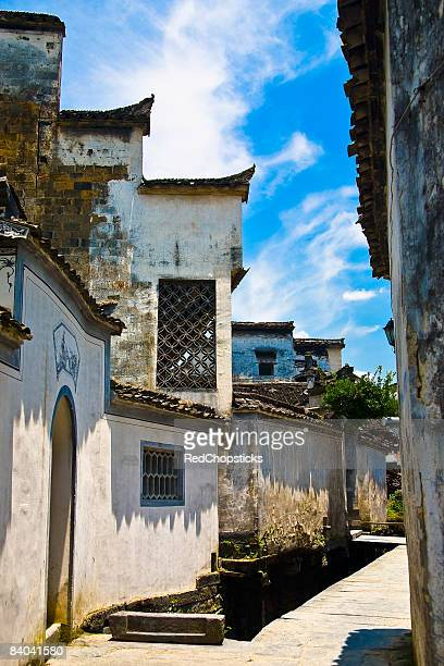 Houses in a village, Xidi, Anhui Province, China