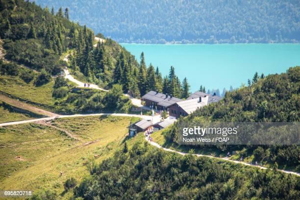 Houses in bavarian alps
