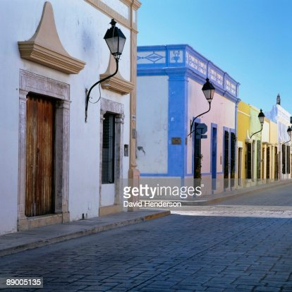 Houses in Campeche, Mexico