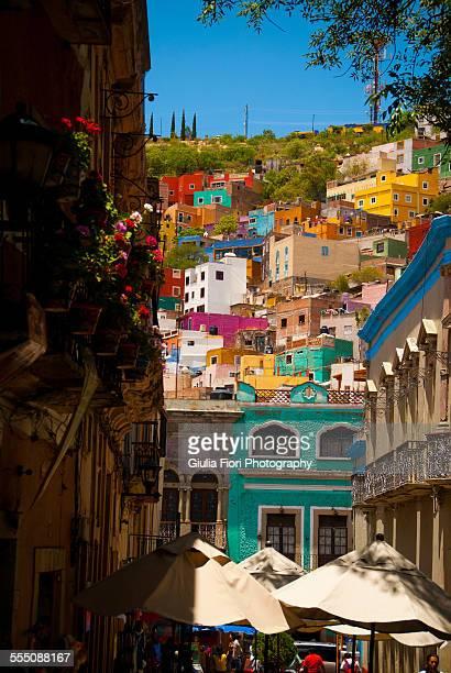 Houses in Guanajuato, Mexico