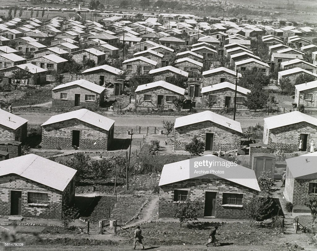 Houses in orlando a township in soweto johannesburg for Best houses in south africa pictures
