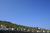 Houses in Sennen Cove, Cornwall, England