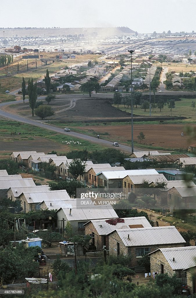 Houses in Soweto Johannesburg South Africa
