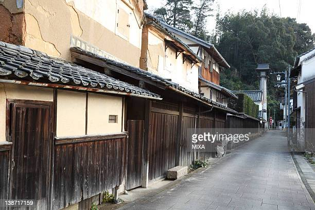 Houses of Meiji Period, Ozu, Ehime, Japan