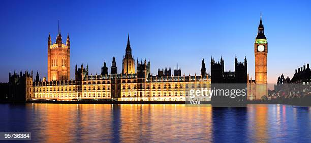 Houses of Parliament and Big Ben at Dusk, London