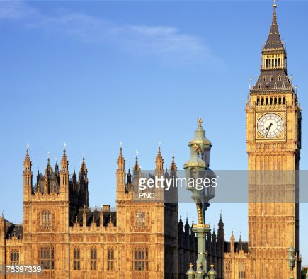 Houses of Parliament, London, England : Stock Photo