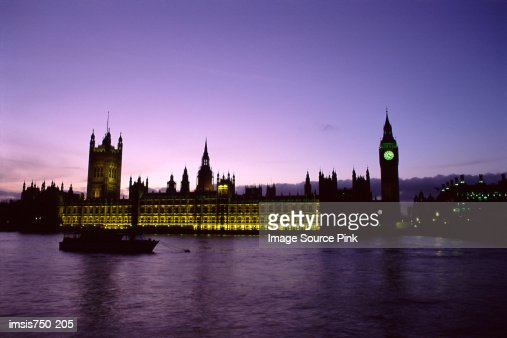 Houses of Parliament London : Stock Photo