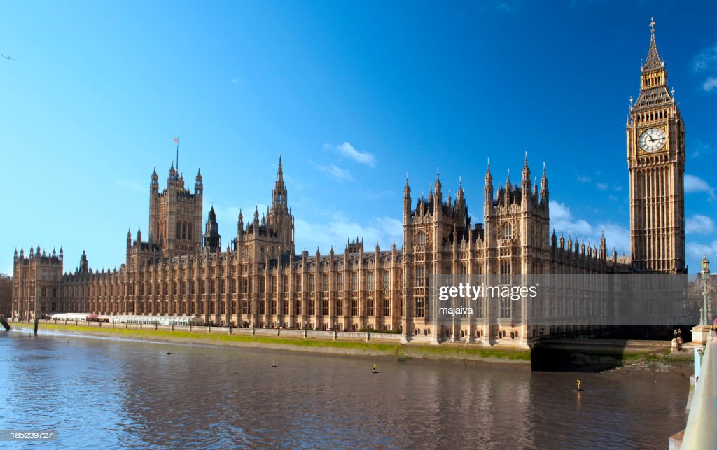 Houses of Parliament,London : Stock Photo