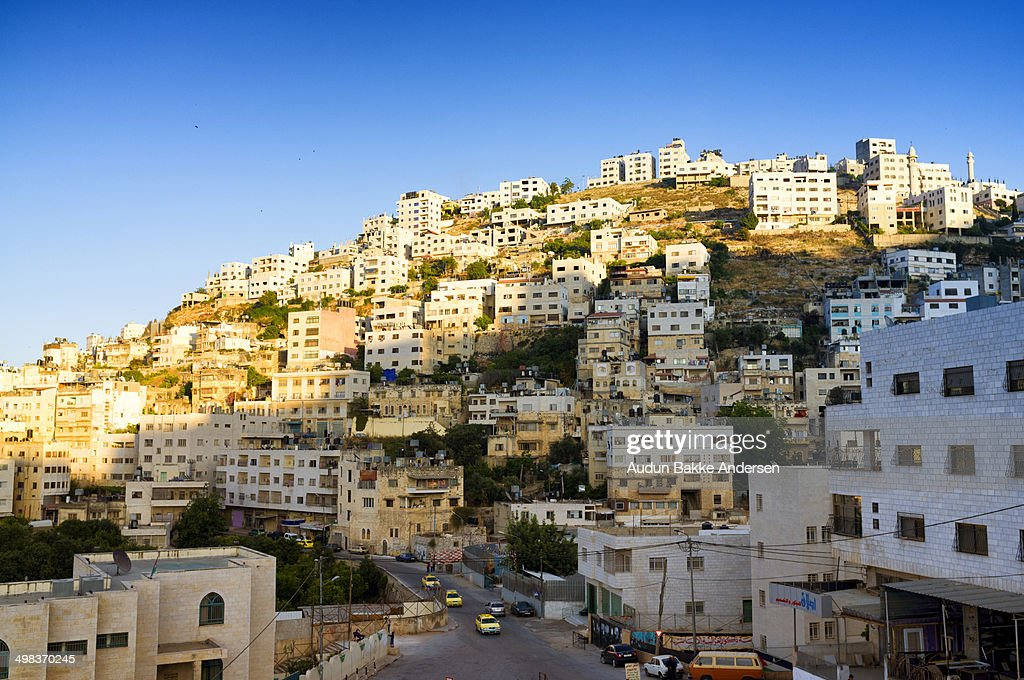 Houses of the city of Nablus, Palestine