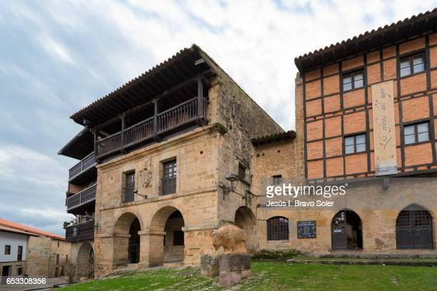 Houses of the Eagle and the Vine in Santillana del Mar