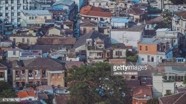 Houses on Gulangyu island near Xiamen