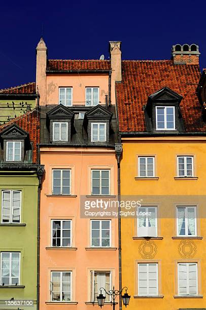 Houses painted