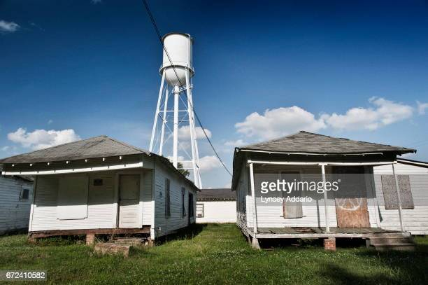 Houses sit crooked and falling down in Baptist town in the Mississippi Delta June 3 2012 Often linked to poverty and unemployment Mississippi has...