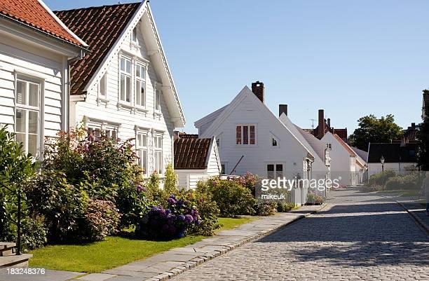 Häuser Norwegen, stavanger