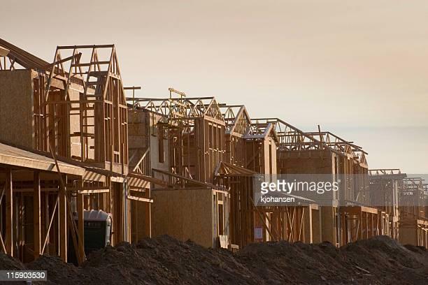 Häuser im Bau
