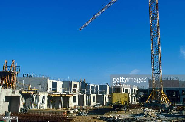 houses under construction