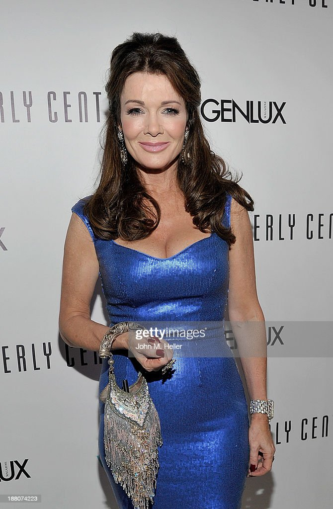 Housewives of Beverly Hills <a gi-track='captionPersonalityLinkClicked' href=/galleries/search?phrase=Lisa+Vanderpump&family=editorial&specificpeople=6834933 ng-click='$event.stopPropagation()'>Lisa Vanderpump</a> attends the GENLUX magazine Launch Event Party at The Beverly Center on November 14, 2013 in Los Angeles, California.